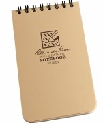 All-Weather Notebook Tan 3x5