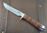 Randall Model 7-5 Fisherman/Hunter with Stacked Leather Handle