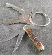 Miniature Trapper Amber Bone