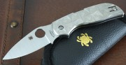 Spyderco Chaparral Stepped Titanium Handle Scales