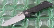 Southern Grind Spider Monkey - Satin S35VN Drop Point Blade - Carbon Fiber Handles - SG06030008