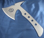 Southern Grind Wasp Throwing Axe Set of 4 - 8670M High Carbon Steel - Leather Sheath - SG10070000