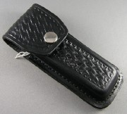 Leather Sheath Black Medium