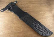 Straight Sheath Black 6""