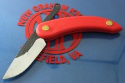 "Svord Peasant Knife 3"" RED"