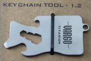 Titanium Key Chain Tool