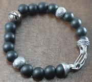 BB3M Sterling/Onyx Bracelet