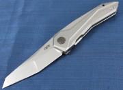 Zero Tolerance 0055 - S35VN Stainless Blade - Titanium Handles - Framelock ZT0055