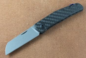 Zero Tolerance 0230 Anso Slip-Joint - CPM-20CV Steel - Carbon Fiber Handles