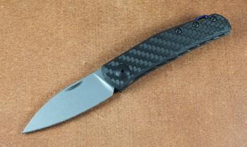 Zero Tolerance 0235 Anso - CPM 20CV Blade Steel - Carbon Fiber Handle - Slipjoint Design