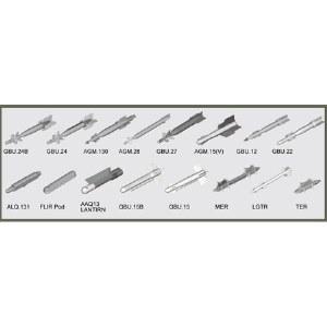 1/32 US Aircraft Weapons Set