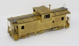 S D&RGW Wide Vision Caboose