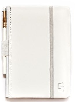 Blackwing Notebook with Pencil - Pearl   Blank