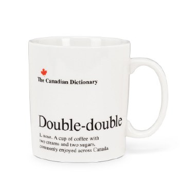 Canadian Dictionary Mug - Double Double