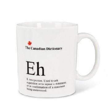 Canadian Dictionary Mug - Eh