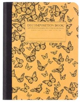 Michael Roger: Monarch Migration Large Notebook