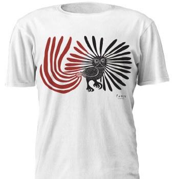Kenojuak Ashevak: Enchanted Owl T-Shirt - Large