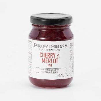 Provisions: Cherry and Merlot Jam 125ml