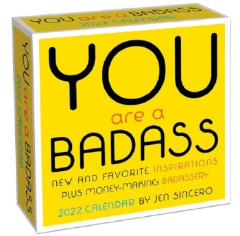 You Are a Badass 2022 Day-to-Day Calendar