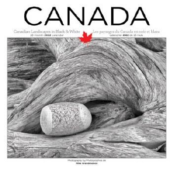 Canada B&W Landscapes: 2022 Wall Calendar