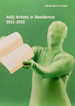 AGO Artists in Residence 2011-2016