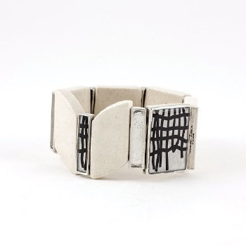 Anne-Marie Chagnon: Viviana Black & White Bracelet