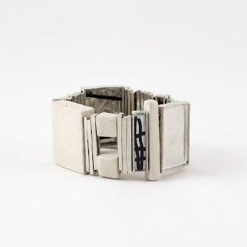 Anne-Marie Chagnon: Tricia Black & White Bracelet