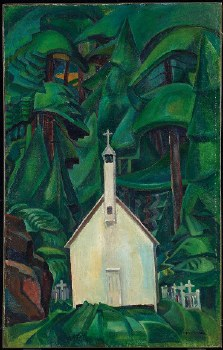 Emily Carr: Church In Yuquot, 1929