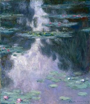 "Claude Monet: Nymphéas (Waterlilies), 1907 - 11"" x 14"""