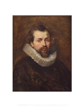 "Peter Paul Rubens: Portrait of Phillipe Rubens - 11"" x 14"""