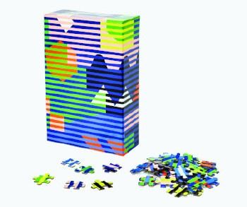 Dusen Dusen Lenticular Pattern Puzzle