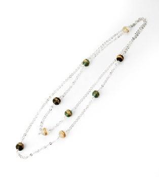 Bijouxbead: Bohemian Glass Bead Necklace