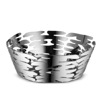 Alessi Barket Basket Bowl - Steel