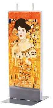Gustav Klimt: Adele Woman In Gold Candle