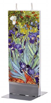 Vincent Van Gogh: Irises Candle