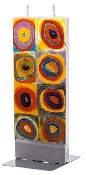 Wassily Kandinsky: Colour Study Candle