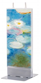 Claude Monet: Pink Waterlilies Candle