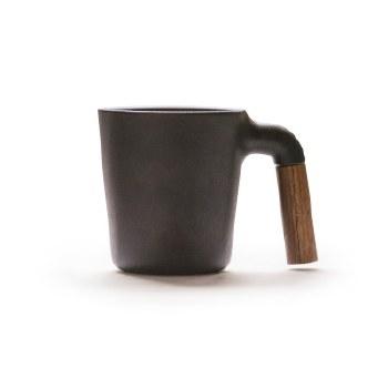 HMM MUGR Wood Handle Mug