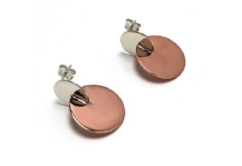 Claudine Moncion: Earring - Demi Round - 25 mm