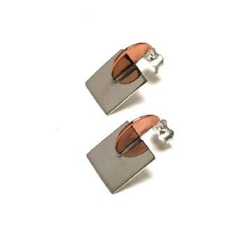 Claudine Moncion: Earring - Demi M. Square - 20mm