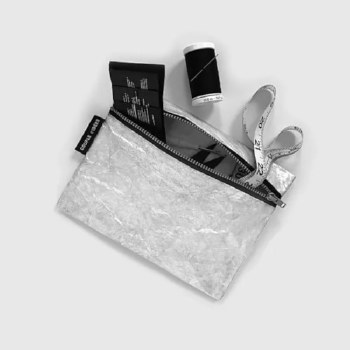 Tyvek® City Pouch - Silver