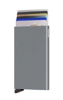 Secrid Cardprotector Wallet - Silver Titanium
