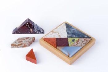D.A.R. Proyectos Semi Precious Stone Tangram