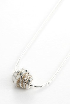 Dorothee Rosen: Onefooter Sterling Silver Necklace