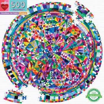 Eeboo: Triangle Pattern Puzzle