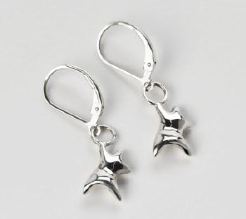 George Hope: Dancing Bear Earrings