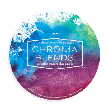 ooly: Chroma Blends Circular Watercolor Paper