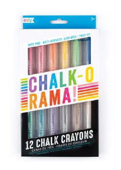 ooly: Chalk-O-Rama Chalk Crayons