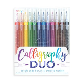 ooly: Calligraphy Duo Marker Set