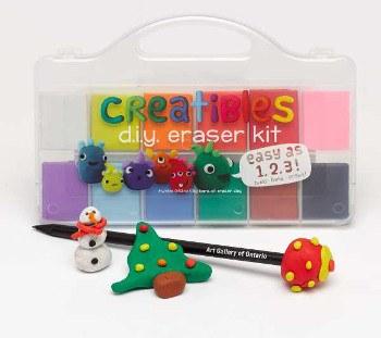 ooly: Creatibles DIY Eraser Kit